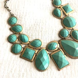 Jewelry - Teal Bauble Necklace